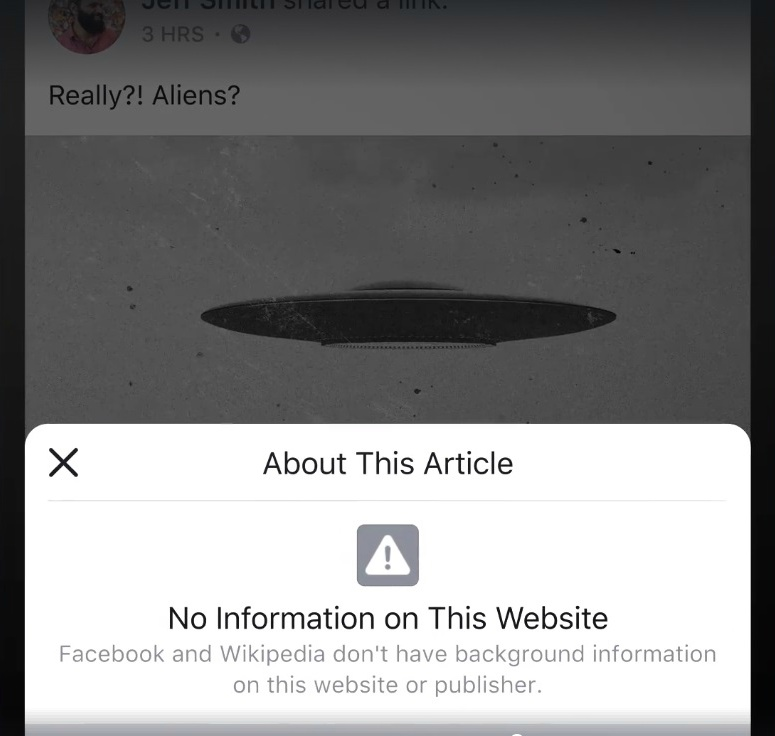 new facebook feature No article on this website