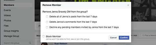 member cleanup update new facebook features new facebook facebook feature